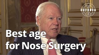 What is the best age to perform a nose surgery ? (Q&A for patients)