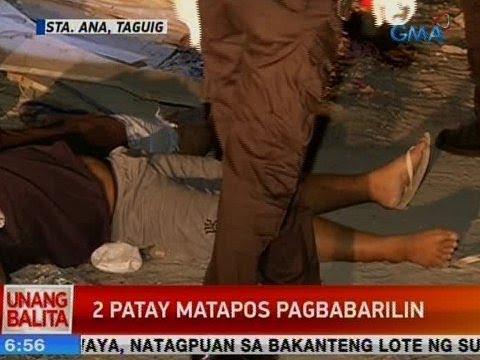 UB: 2 patay matapos pagbabarilin sa Taguig