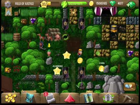 MOBILE [~Robin Hood~] #7 Field of Justice - Diggy's Adventure |