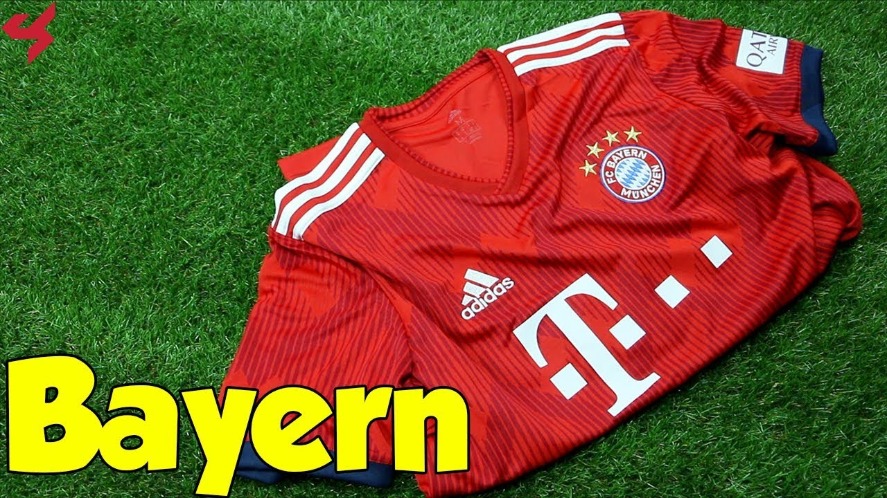 dad6d9736f4 Adidas FC Bayern Munich 2018 19 Home Jersey Unboxing + Review from Subside  Sports