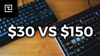 $30 vs. $150 Mechanical Gaming Keyboard // WHICH ONE IS FOR YOU?