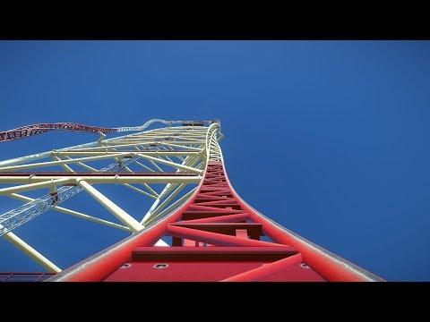 Planet Coaster: Super Dragster Roller Coaster