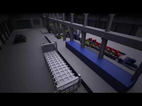 Modélisation de la future usine de transformation d'aluminium de Sural Québec inc. à Victoriaville