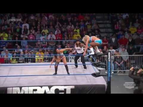 Impact Wrestling 2013 04 25 Taryn Terrell vs  Tara 720p)