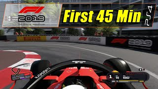 F1 2019: Anniversary Edition (ps4)   First 45 Min (1080@60)