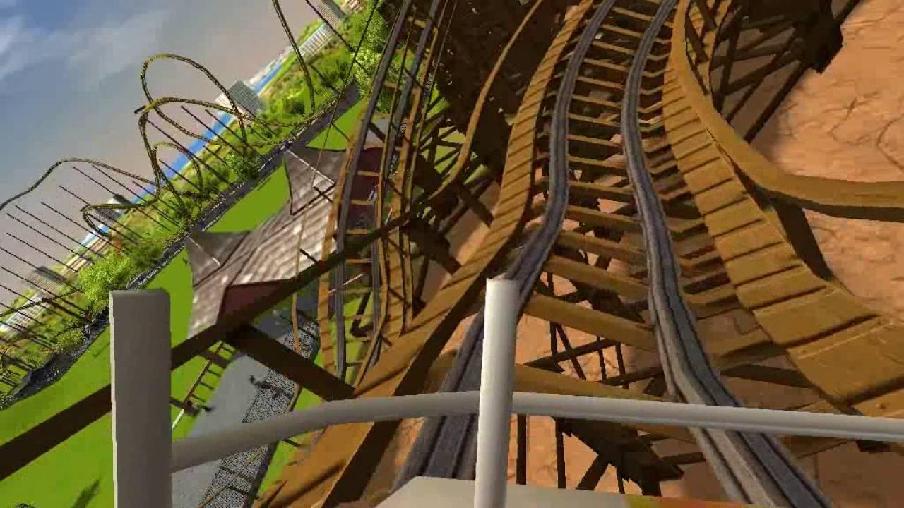 RoarThe Joker RCT3 Six Flags Discovery KingdomHome Park
