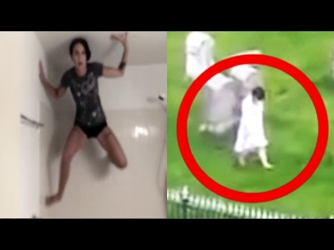 5 PARANORMAL & CREEPY Things Caught On Camera!
