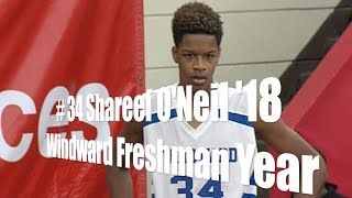 Shareef O'Neal '18, Windward Freshman, UA Holiday Classic