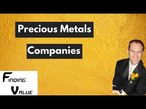 Precious Metals Mining Companies
