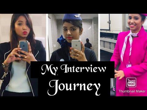 My Interview Experience||CABIN CREW || Pink Vanity