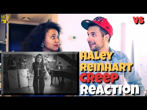 Haley Reinhart sings 'Creep' Vintage (VS) Reaction