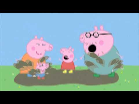 Peppa Pig - Muddy Puddles Dance!