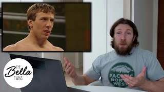 Daniel Bryan rewatches his first televised match in WWE - Bella Playback