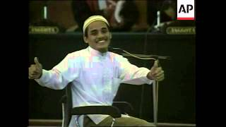 Amrozi guilty verdict plus reaction in Bali - 2003
