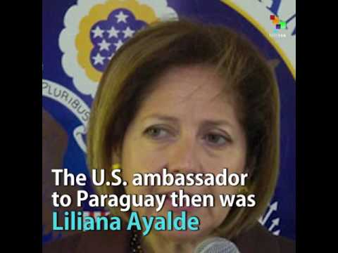 Current US Ambassador to Brazil Served in Paraguay Prior to 2012 Coup