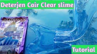 Cara membuat Clear slime dari Deterjen Cair