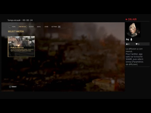 Diffusion PS4 en direct de Spartacus76__