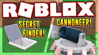 How to get the SECRET FINDER and CANNONEER BADGES IN EPIC MINIGAMES | Roblox