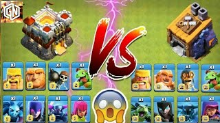 🔥Th VS. Bh Troops🔥INSANE BATTLE😲🔥Townhall VS. Builder hall Troops🔥GAMING WITH NAKUL🔥