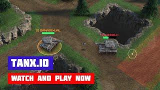 Tanx.io · Game · Gameplay