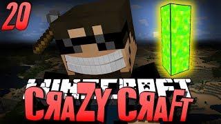 Minecraft CRAZY CRAFT 20 - Getting Stronger w/ Poppets (Minecraft Mod Survival)