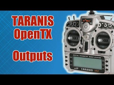 видео: TARANIS / Outputs (Настройка выходных каналов) / ALNADO