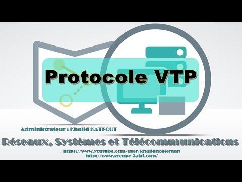 Explication et Configuration de VTP (KHALID KATKOUT)