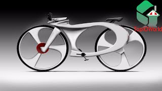 10 INCREDIBLE BICYCLE CONCEPTS OF THE FUTURE