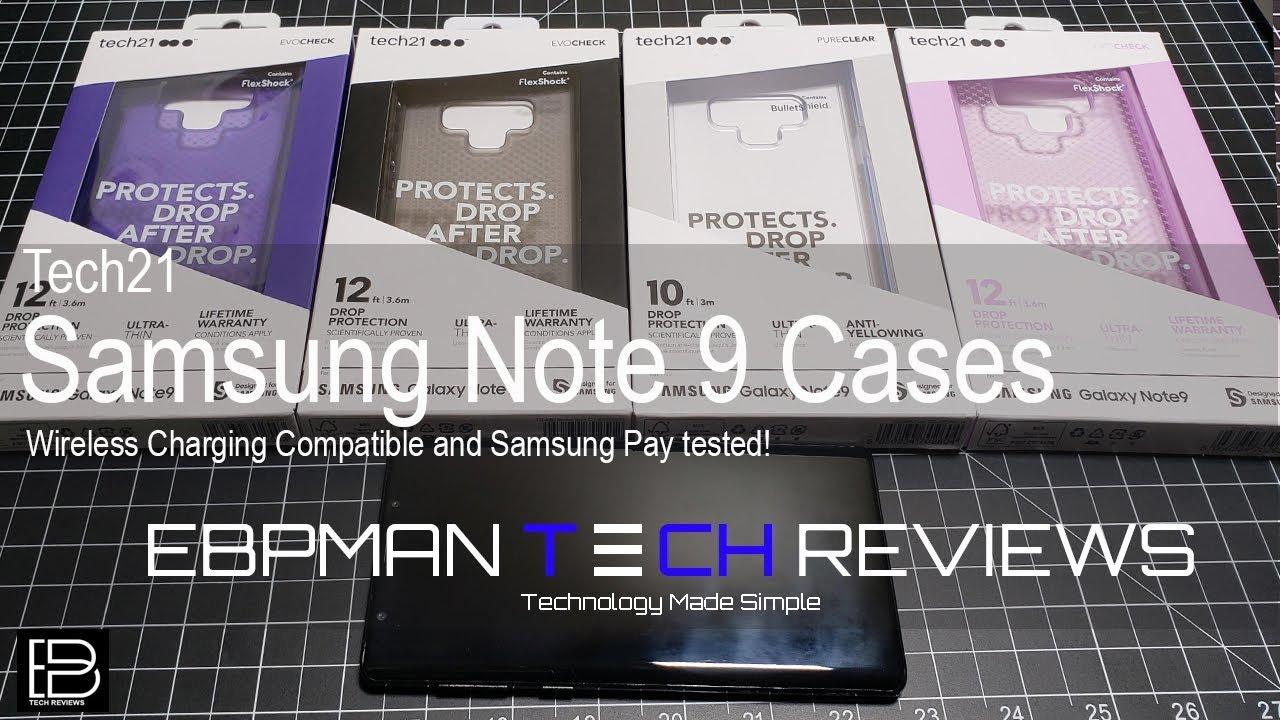detailed look d60e1 e0522 Tech 21 Samsung Galaxy Note 9 Case Review