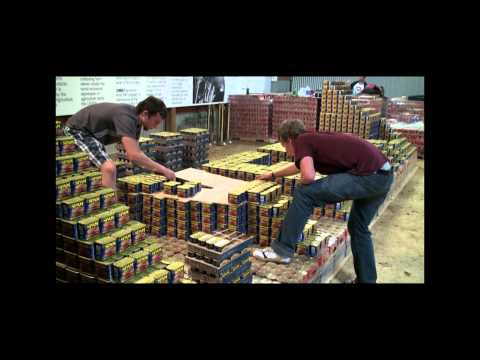 The Making of a Canned Food Display