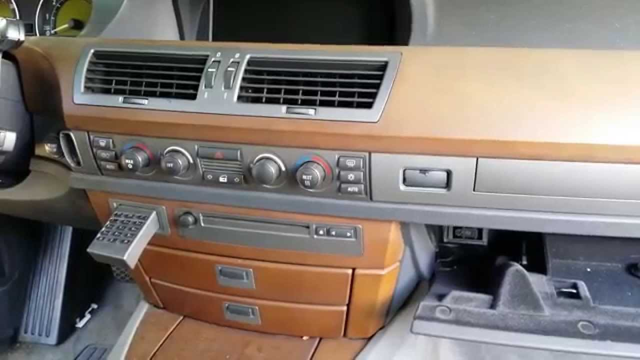 Bmw 745 750 Dash Wood Trim Center Air Vent Removal Part 2 Youtube Wiring