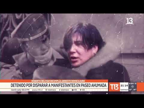 Roberto Belmar es linchado tras salir en libertad del Centro de Justicia