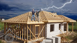 Как легко построить сложную крышу