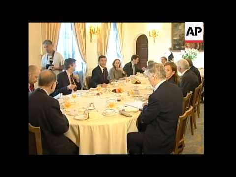 WRAP Meeting of French, German, British FMs, Solana, adds Japanese FM