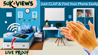 Clap to find find my phone : How to find misplaced phone by clapping in all setting Urdu Hindi screenshot 3