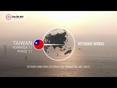 Formosa 1 Phase 2 Offshore Wind Farm in Taiwan