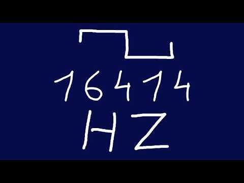 16414 Hz Square