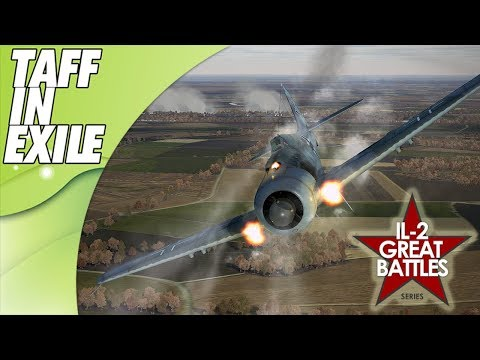 IL-2 Great Battles | Hawker Tempest Mk V | (Battle Of Bodenplatte)