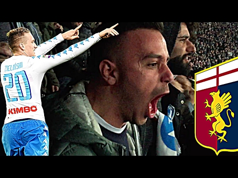 NAPOLI 2-0 GENOA | LIVE REACTION GOL HD CURVA B !!!