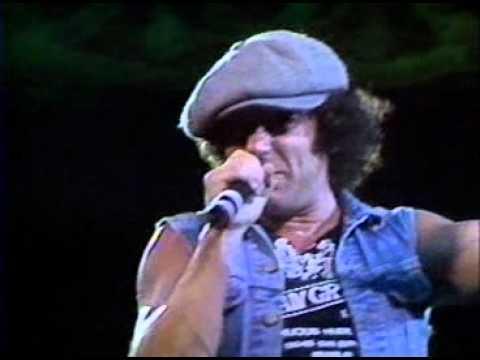 Rock In Rio 1 - 00hs de 15-01-1985 AC/DC - Back In Black