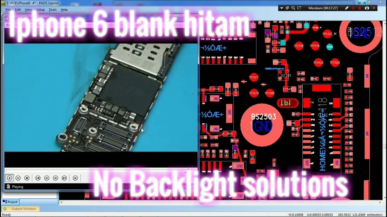 Iphone 6 Blank Hitam No Backlight Solutions Youtube