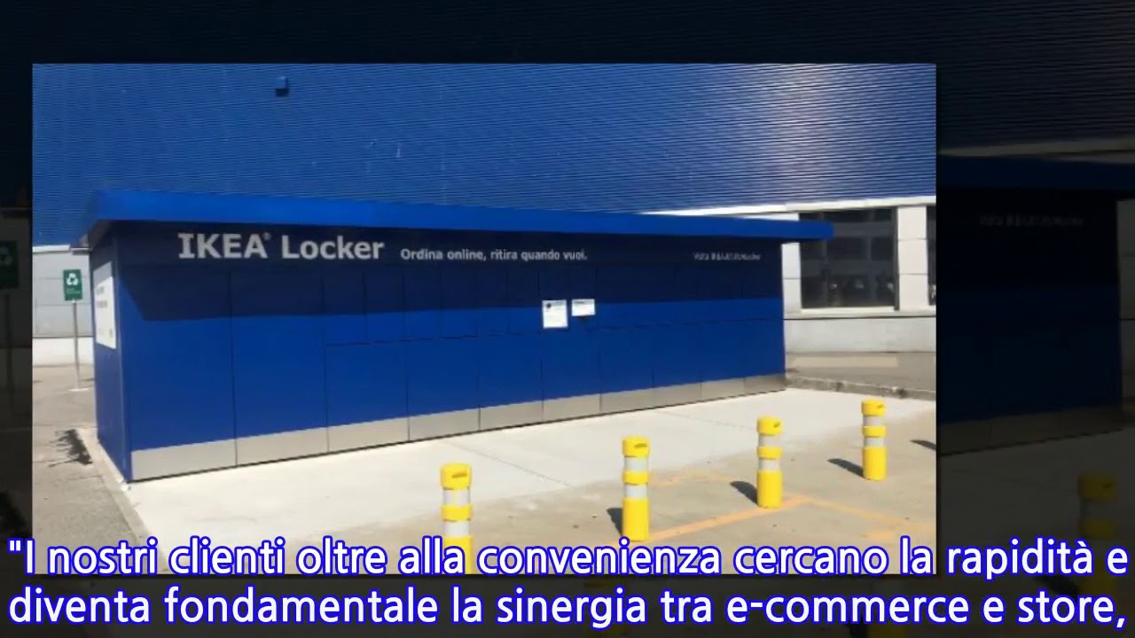 Ikea Parte Da Milano Progetto Lockers Youtube