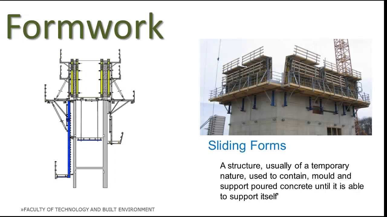Construction Practice 2 Intro To Formwork Falsework Youtube
