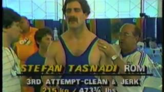 1984 Olympic Games Weightlifting - 110kg