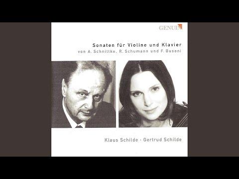 Violin Sonata No. 3: II. Allegro molto