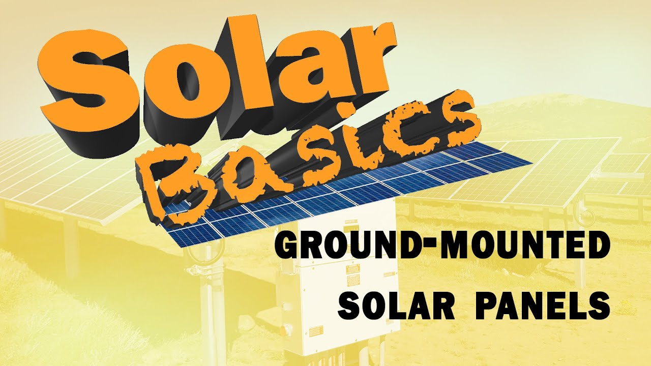 What are the different types of ground-mount solar racking