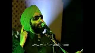 Rabbi Shergill - king of Punjabi & Rock fusion sings