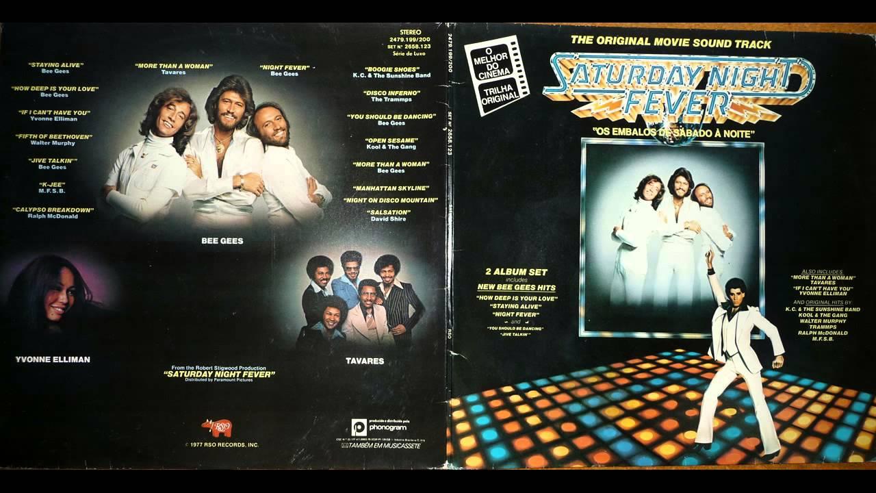 Saturday Night Fever Direct Vinyl Capture Youtube