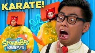 Doing KA-RA-TE for the Golden Pineapple! | SpongeBob SmartyPants Ep. 3