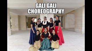 Gali Gali | Gali Gali Lyrical | KGF  |Dance choreography| Farhana Firos.